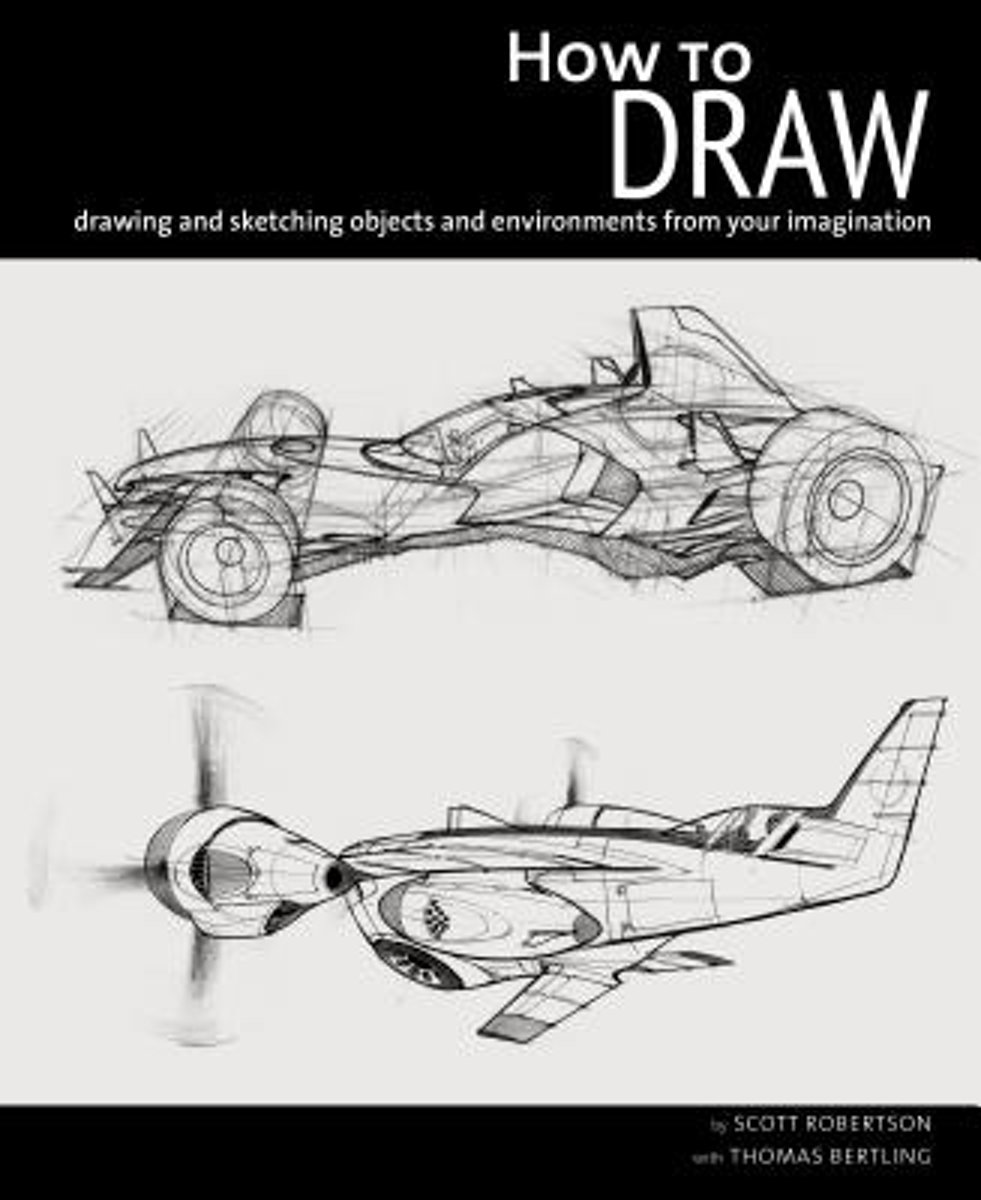 boek cover how to draw